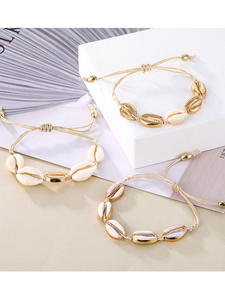 IPARAM Chain Bracelet Jewelry Anklet Shell-Rope Party-Gift Vintage Bohemia Wholesale