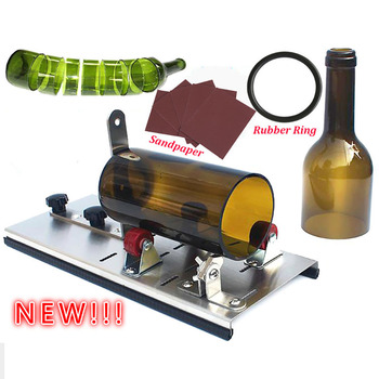 Glass Bottle Cutter Cutting Thickness 3-10mm Aluminum Alloy Better Cutting Control Create Glass Sculptures