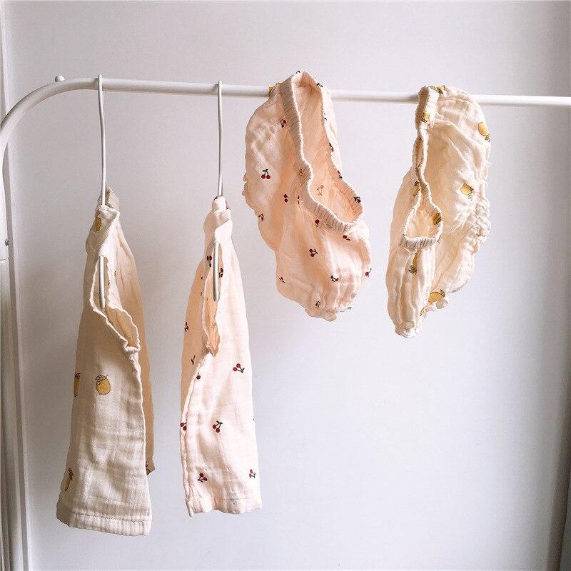 Одежда для новорожденных; Одежда для малышей; Комплект юбок лимонного и муслин летняя одежда для малышей комплект одежды с футболкой с више...