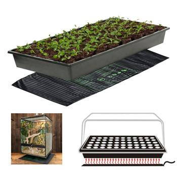 122x50cm Plant Seedling Heating Pad Waterproof Seed Germination Propagation Clone Starter Pad Garden Supplies Pet Retile Pad