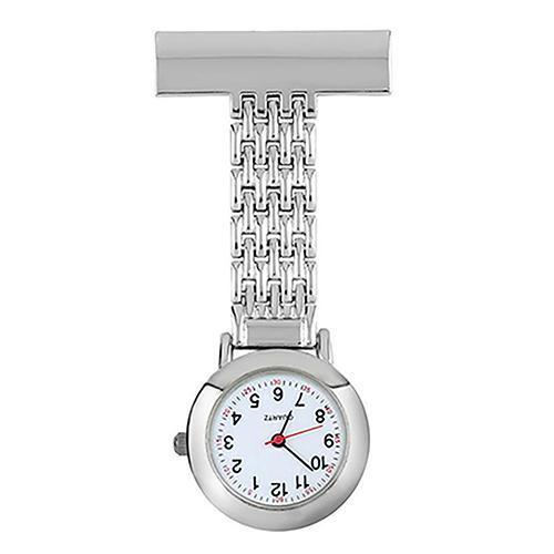 2019 New Ladies Watch Round Dial Nurse Doctor Brooch Clip Quartz Fob Pendant Quartz Pocket Watch/Nurse Watch/Brooch Pocket Watch