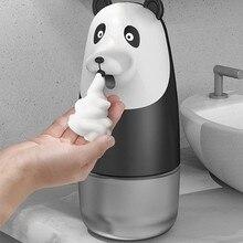 Inteligente touchless dispensador de sabão indução automática lavadora de espuma líquida banheiro w8ea