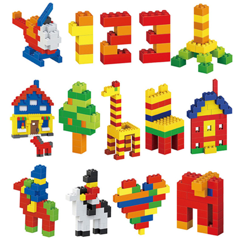 1000 Pieces Classic Building Blocks City DIY Creative Bricks Bulk Sets Creator Baseplate Educational Toys Compatible All Brands in Blocks from Toys Hobbies