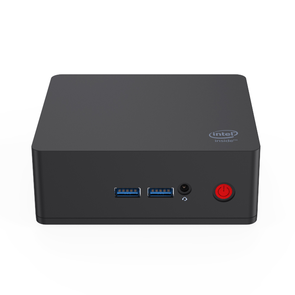 AP45 WIN10 Mini PC Intel Pentium J4205 Up To 2.6GHz DDR3L 8GB SSD 128GB Windows 10 2*HD Output 4*USB3.0 Gigabit LAN 4K HTPC NUC
