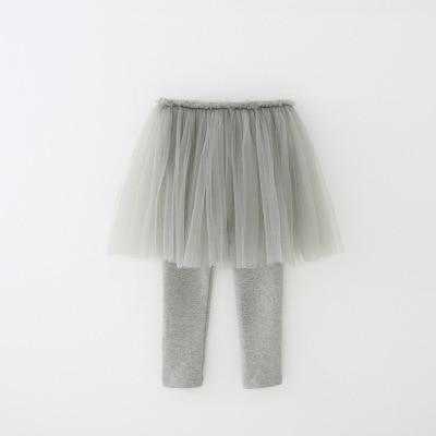 VIDMID Girls Leggings skirt clothing Skirt-Pants Kids Pants trousers Girl kids Leggings Trousers clothes lace pants 7065 02 3