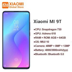 Image 2 - 글로벌 버전 Xiaomi Mi 9 T (Redmi K20) Mi9 T 6GB 64GB 전체 화면 48 백만 슈퍼 광각 팝업 전면 카메라 스마트 폰