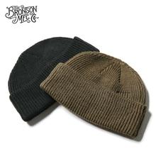 WW2 USAF A 4 WATCH CAP 80% Wool WW2 Replica A4 Winter Warm Knit Thick Cap Vintage Military Outdoor Hat Skateboard Street Dance