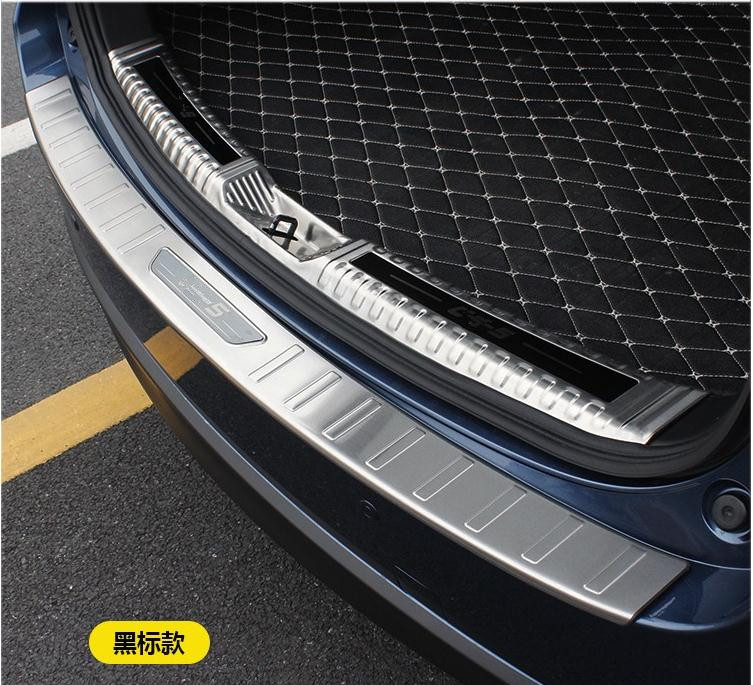 304 stainless steel Rear bumper Protector Sill Trunk Tread Plate Trim For Mazda new <font><b>CX</b></font>-<font><b>5</b></font> cx5 2017 <font><b>2018</b></font> Car styling image