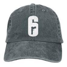Бейсболка унисекс с логотипом Rainbow Six Siege