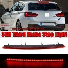 Новинка-красные линзы, полный светодиодный Задняя Крышка багажника третьей 3Rd стоп светильник для хэтчбеков BMW серий 1 E88 E82 2007-2013 63257164978