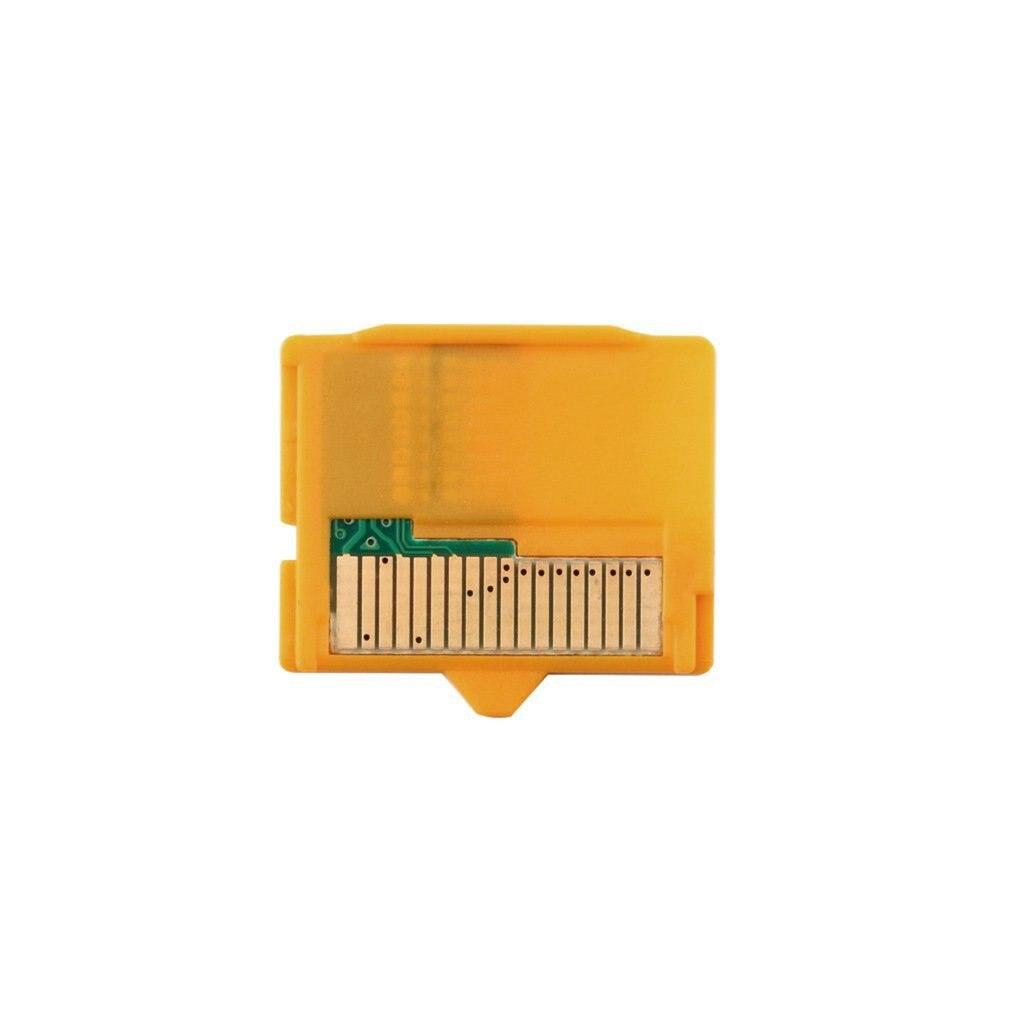 Yellow 1pcs Micro SD Attachment MASD-1 Camera TF To XD Card Insert Adapter 25 X 22 X 2mm(L X W XH) For OLYMPUS