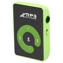 Retail Mini Mirror Clip USB Digital Mp3 Music Player Support