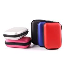 НОВЫЙ 2,5 жесткий диск чехол Портативный жесткий диск защитная сумка для внешнего 2,5 дюймов жесткий диск/наушники/U диск Корпус для жесткого д...