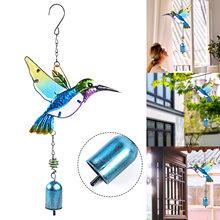 Campanas de viento colgantes de aluminio para el hogar, adorno de patio de jardín al aire libre, campanilla de viento, colgante para sala de estar, 2021