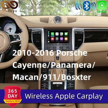 Sinairyu Wifi Wireless Carplay For Porsche PCM3.1 PCM4.0 Android Auto/Mirror Apple Car Play For 2010-2018 911 Panamera Macan