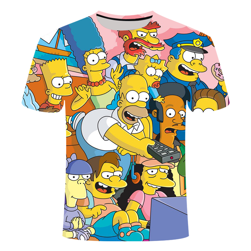 T-Shirt Homme Simpsons Greatest Dad in The House T