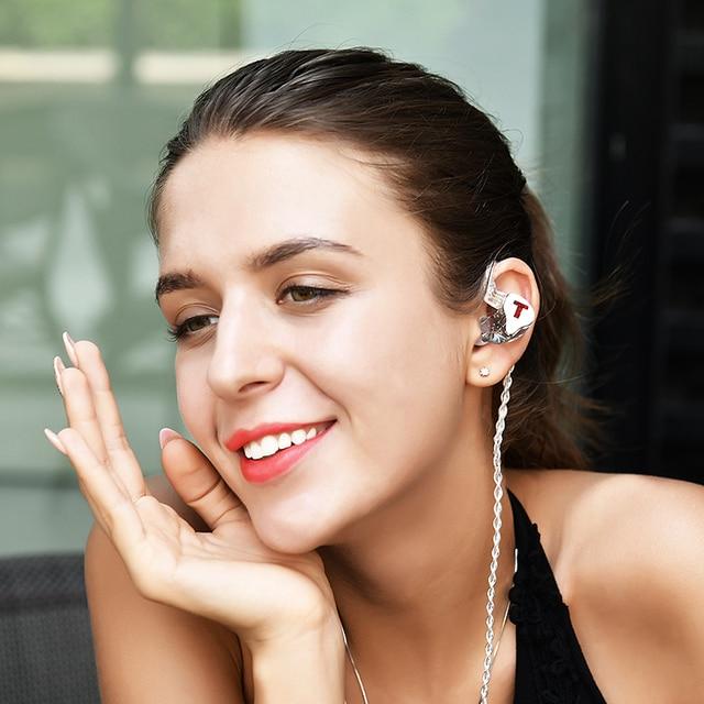 TFZ/Tx Bear 3,Monitor Earphones HIFI Headset with High Quality Tri-Motion Iron Music 6