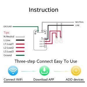 Image 5 - Zemismart US AU WiFi Wall Push Light Switch Alexa Google Home TUYA APP Control One Gang Two Three Gangs Physical Switches
