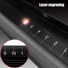 1 Pcs Aluminum Alloy Straight Ruler Protective Scale Measuring Engineers Drawing Tool SP99