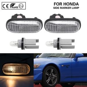Image 1 - 2x ברור OEM צד מרקר אור אמבר הפעל אותות אור להונדה S2000 אקורד פרלוד סיוויק CRX Fit