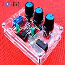 XR2206 Function Signal Generator DIY Wireless Electronics Kit Sine / Triangle /  Output Signal Generator Adjustable Frequency diy 555 multi wave signal generator circuit kit