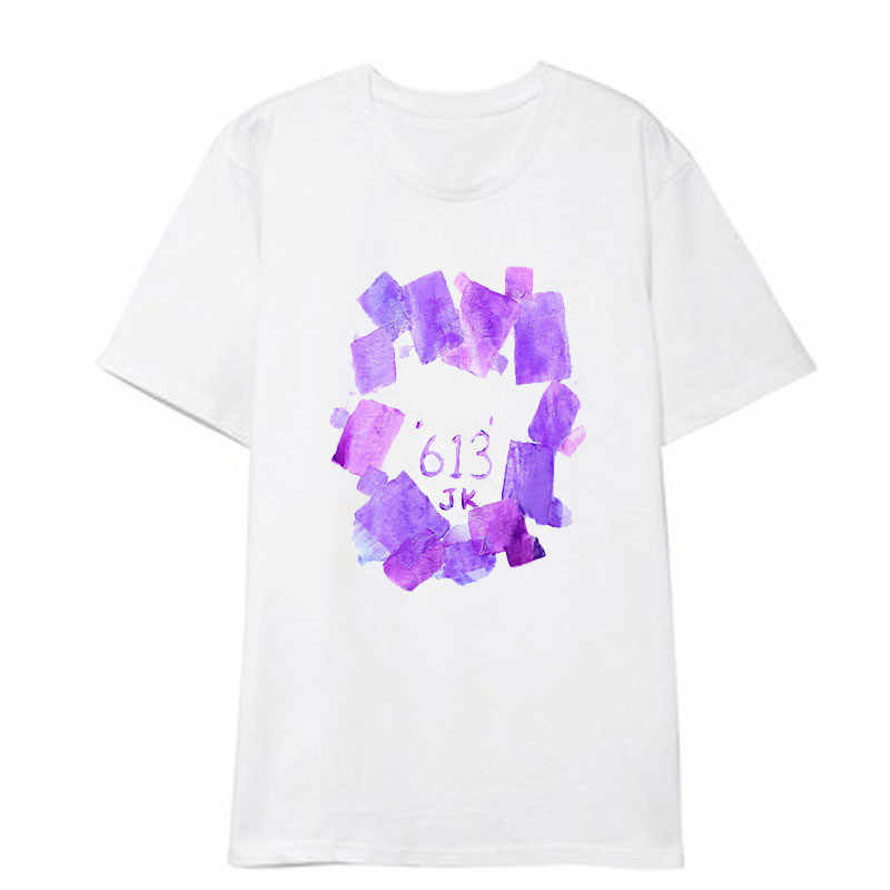 Kpop ジン菅夏 Tシャツ 5TH 召集 Busan ソウルコンサート落書き服 k-ポップ bangtan ボーイズ原宿 tシャツ k ポップ tシャツ