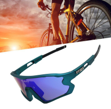 FTIIER NEW 5 Lens UV400 Cycling Sunglasses TR90 Sports Bicycle Glasses MTB Mountain Bike Fishing Hiking Riding Eyewear