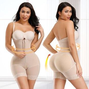 HEXIN Women Postpartum Slimming Underwear Shaper Recover Seamless Butt Lifter Bodysuits Shapewear Waist Corset Girdle Body Shape 5
