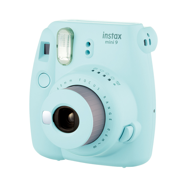 Fujifilm Once Imaging Camera Instax Mini9 Instant Polaroid Free 10 Pcs Photo paper Smart Beauty Gift For Kids