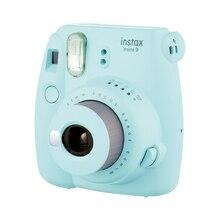후지 필름 한 번 이미징 카메라 Instax Mini9 인스턴트 폴라로이드 무료 10 Pcs 인화지 어린이를위한 스마트 뷰티 선물