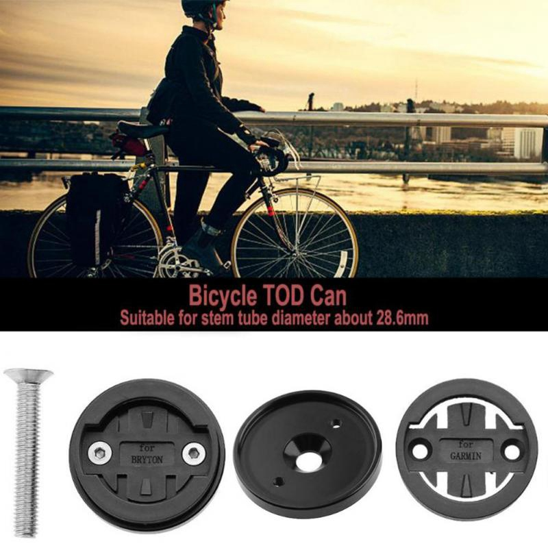 MTB Road <font><b>Bike</b></font> <font><b>Computer</b></font> Holder Stem Top Cap Cycling Stopwatch <font><b>GPS</b></font> Speedometer Mount Bracket Stopwatch Mount Bicycle Holder image