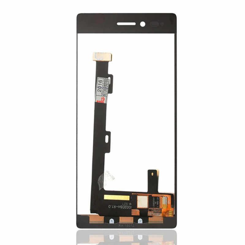 100% Test Lenovo Vibe Shot için Z90a40 lcd ekran dokunmatik ekran digitizer için çerçeve olmadan Lenovo Vibe