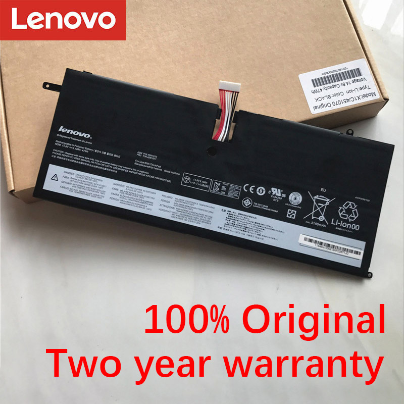 Lenovo NEW Original 45N1070 45N1071 Laptop Battery For Lenovo ThinkPad X1 Carbon 3444 3448 3460 Series 4ICP4/56/128 14.8V 47Wh