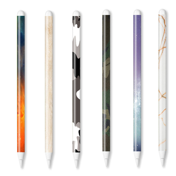 For apple pencil 2 stickers Scratchproof Ultra Thin Painted Touch Stylus pen sticker Non-slip Protective paper - discount item  18% OFF Tablet Accessories