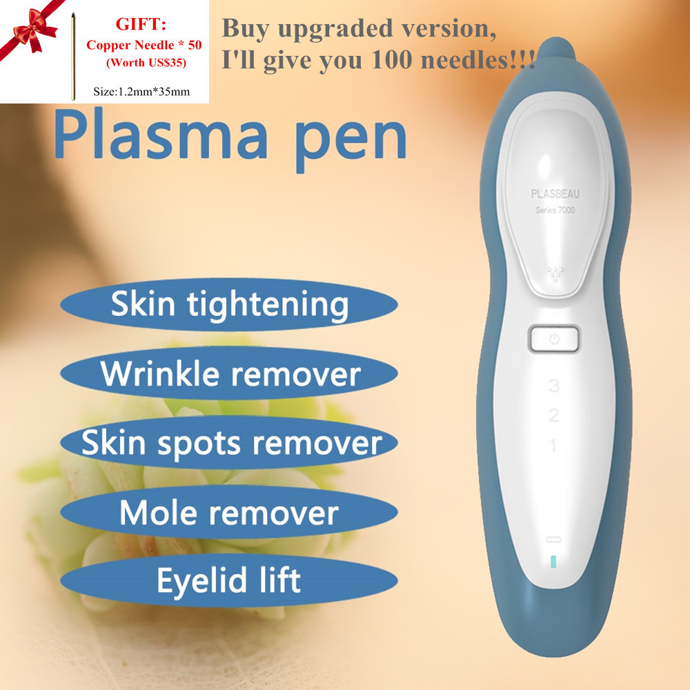 Fibroblast <font><b>Plasma</b></font> <font><b>Pen</b></font> Beauty Machine Skin Tightening Face <font><b>Eyelid</b></font> <font><b>Lift</b></font> Wrinkle Mole Spot Wart Acne Freckle Tattoo <font><b>Removal</b></font> Device image