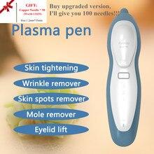 Fibroblastos Caneta Plasma Máquina Da Beleza Da Pele Aperto Face Lift Rugas Acne Verruga Toupeira Local Freckle Remoção Do Tatuagem Pálpebra Dispositivo