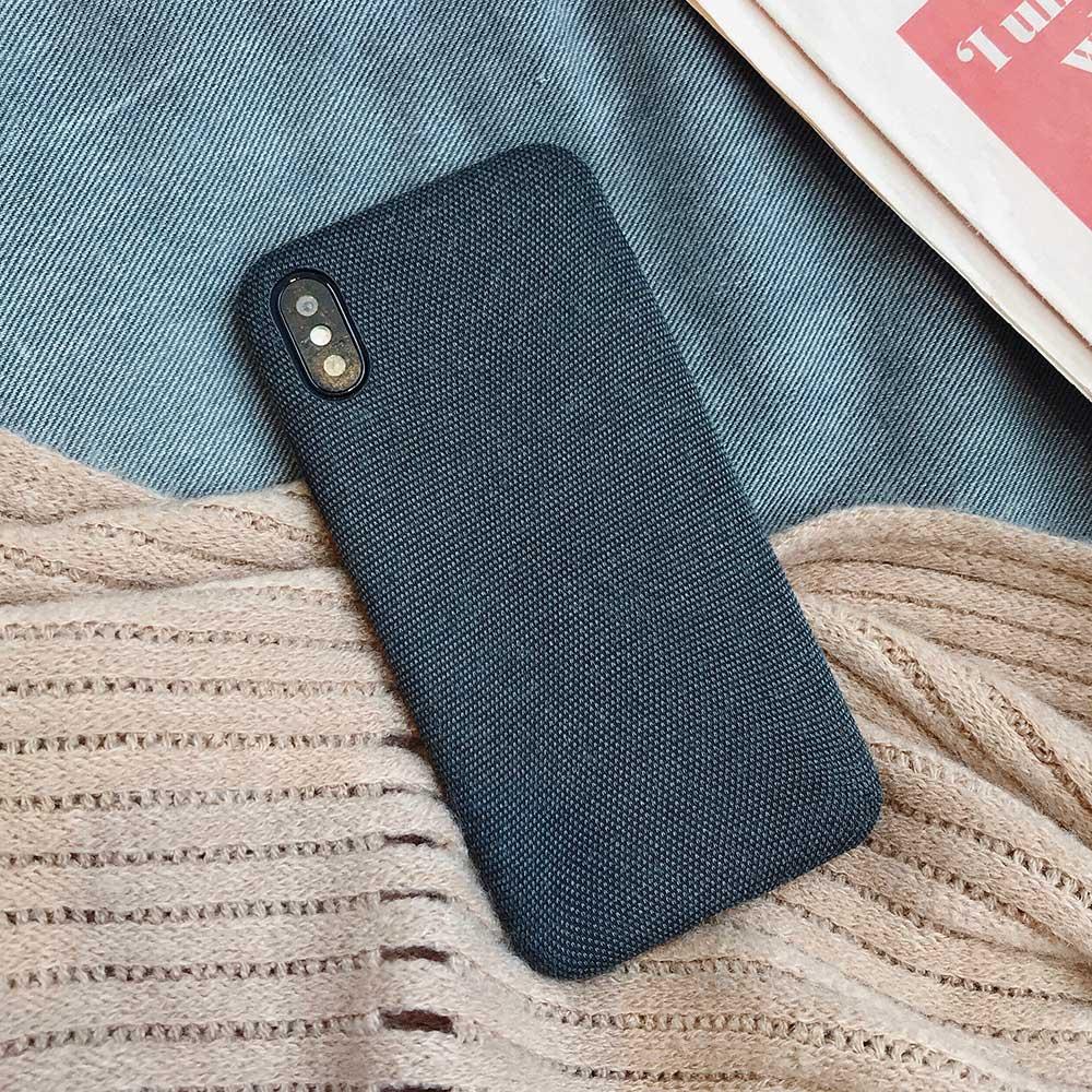 Boucho для iphone Xs MAX XR X XS чехол s крокодиловая текстура чехол для телефона для iphone 11 Pro max 7 8 6 6S Plus Роскошный чехол из искусственной кожи - Цвет: Cloth black