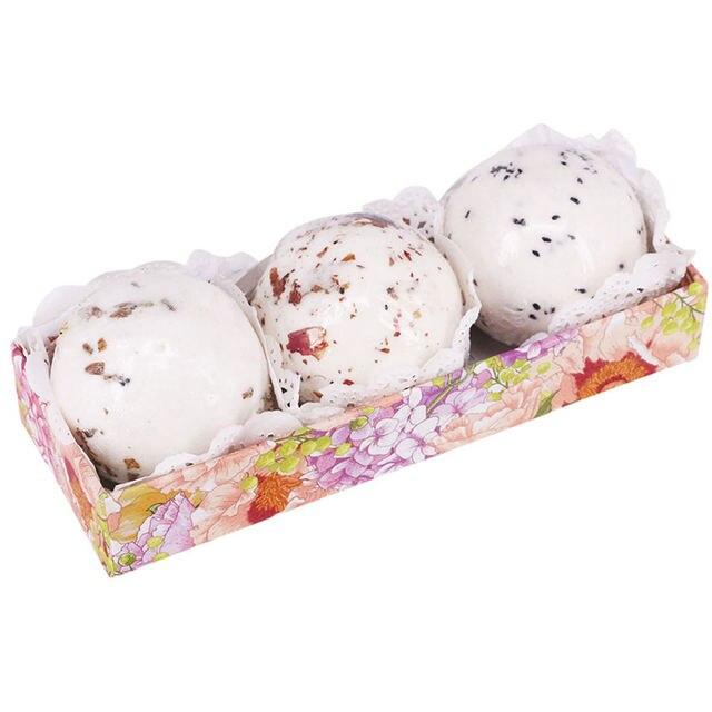 Bath Salt Bombs Bubble Salts Ball Oil Sea Salt Handmade SPA Stress Bath Accessories Shower Salts