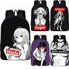 Kawaii Sugoi Senpai аниме Waifu принт школьные ранцы для подростков школьный рюкзак для женщин мужчин рюкзак для мальчиков девочек Сумка для книг