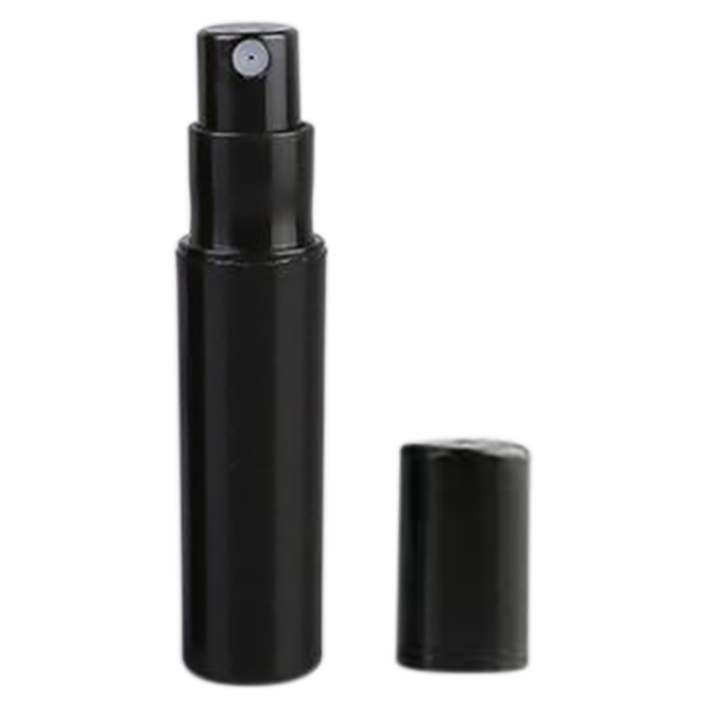 100Pcs / Lot 2Ml Black Plastic Perfume Spray Bottle Sample Spray Sprayer Atomizer Perfume Bottle-0