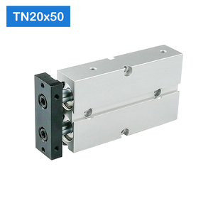 Image 4 - TN20*50 S Free shipping 20mm Bore 50mm Stroke Compact Air Cylinders TN20X50 S Dual Action Air Pneumatic Cylinder