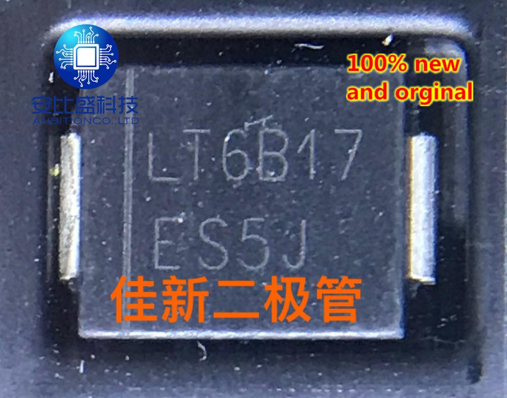 30pcs 100% New And Orginal ES5J5A600V Ultra Fast Recovery Diode DO214AB  In Stock