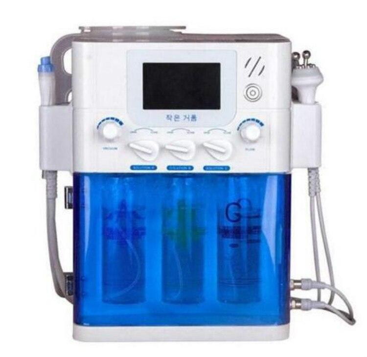 Gorąca sprzedaż próżniowe czyszczenie twarzy Hydro pielęgnacja skóry woda strumień tlenu maszyna do obierania próżniowe urządzenie oczyszczające pory urządzenie do masażu twarzy