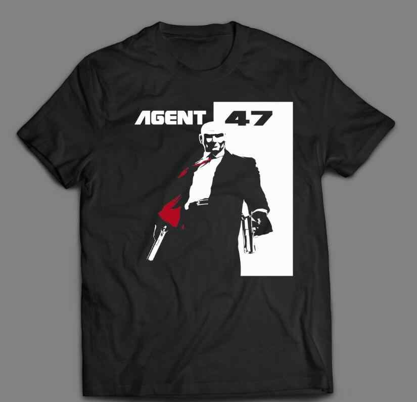Hitman Agent 47 T Shirt Custom Action Design Old Skool Rare Art Men Women Unisex Fashion Tshirt Free Shipping Aliexpress