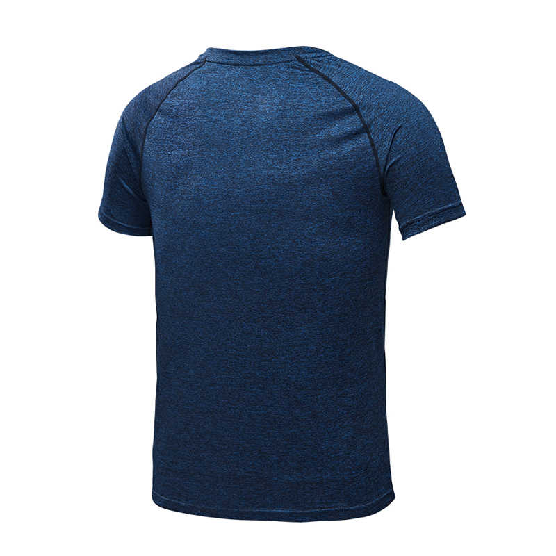 VEQKING erkek hızlı kuru koşu t-shirt, kısa kollu sıkıştırma spor t-shirt, erkek futbol spor giyim, spor salonu Tees gömlek