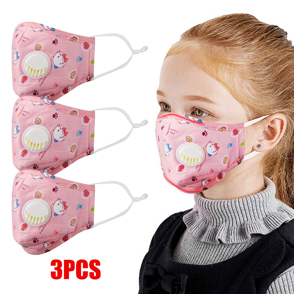 3PCS Reusable Dustproof Mask Dust  PM2.5 Windproof Foggy Haze Pollution Respirat Protective Respirator Breathable Mascarillas