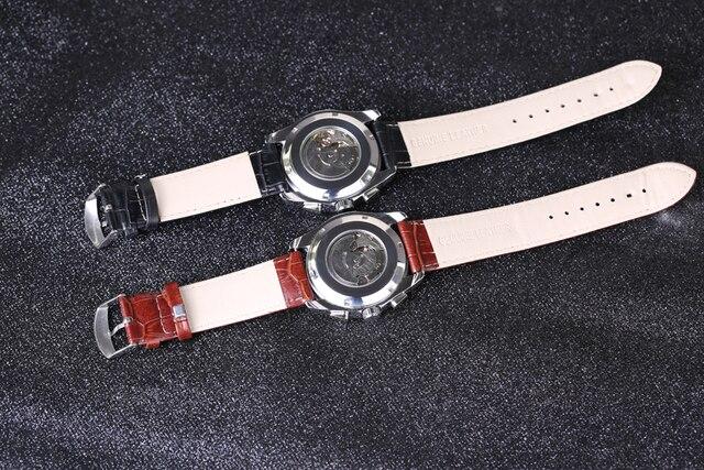 Часы наручные sewor Мужские механические модные спортивные автоматические