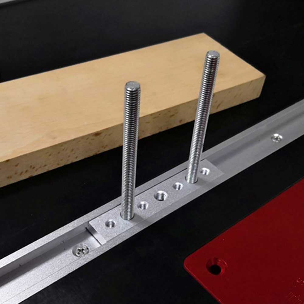 100mm T Track Slot Sliding Slab With M6 M8 Screw Hole 30/45 Type AluminiumThread Universal T-track Sliding Nut Woodworking Tool