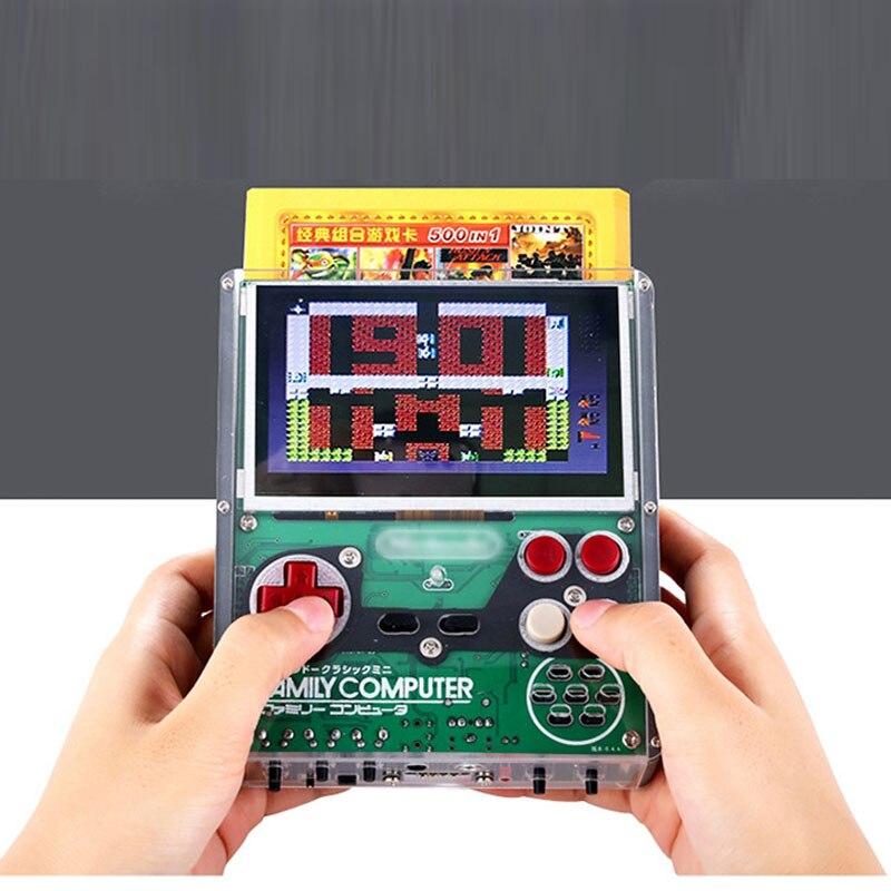 3 цветной экран Портативное игровое устройство DDR2 512M + 16G 2500mAh RG350 ips игры ретро консоль Карманный геймпад поддержка 128G TF - 4