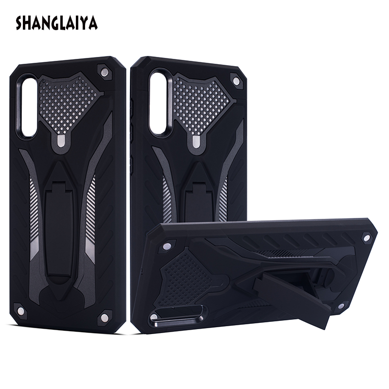 For Samsung Galaxy A50 Case Shockproof Rugged Hard PC Stand Coque Cover For Samsung A50 A70 A40 A30 A20 A60 A10 A30S A50S A70S